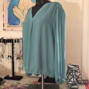 Pretty turquoise blouse